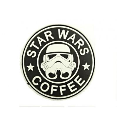 Mtac - Naszywka STAR WARS COFFEE - 3D PVC - SWAT