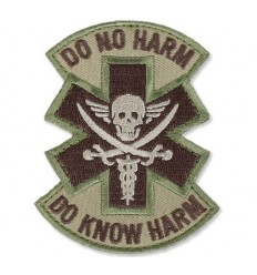 MIL-SPEC MONKEY - Naszywka Do No Harm Pirate - MultiCam