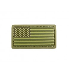 MIL-SPEC MONKEY - Naszywka US Flag Mini - 3D PVC - MultiCam
