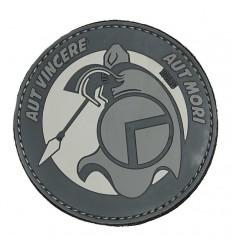101 Inc. - Naszywka Spartan Aut - 3D PVC - Grey