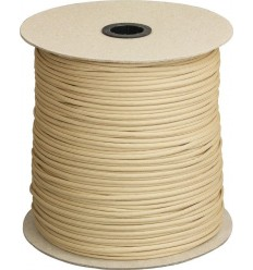 Paracord MIL-SPEC 550-7 / 4mm kontraktowy Military Tan MADE IN USA - 1 metr