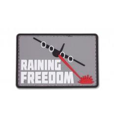 4TAC - Naszywka Raining Freedom - 3D PVC