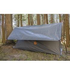 UST Ultimate Survival - Płachta / Plandeka wodoodporna - Weatherproof Tarp, 8'x10′ - 2,44 x 3,05 m