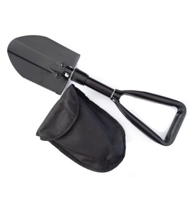 Mil-Tec - Saperka stalowa składana - Mini - Czarny
