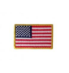 101 Inc. - Naszywka US Flag  - Mała - Full Color