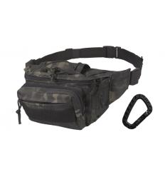 CAMO - Nerka / Torba na pas - Kangoo Waist Pack - 3L - MTC-BL / Multicam Black/