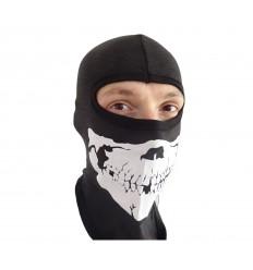 Fostex - Kominiarka z czaszką - Biker Balaclava Skull - Czarny