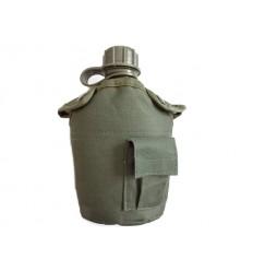 Mil-Tec - Manierka w pokrowcu 1QT /0,94 Litra/ - Zielony