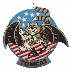 101 Inc. - Naszywka TOMCAT USA