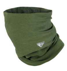 Condor - Szalokominiarka zimowa - Fleece Multi-Wrap - Zielony OD - 161109-001