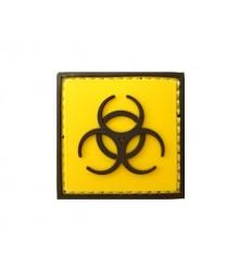 101 Inc. - Naszywka Biohazard Biological - 3D PVC