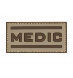 101 Inc. - Naszywka Medic - 3D PVC - Desert