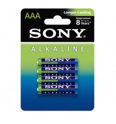 SONY - Bateria alkaliczna Alcaline Longer Lasting AAA R3 - 15,V - Zestaw 4 sztuk