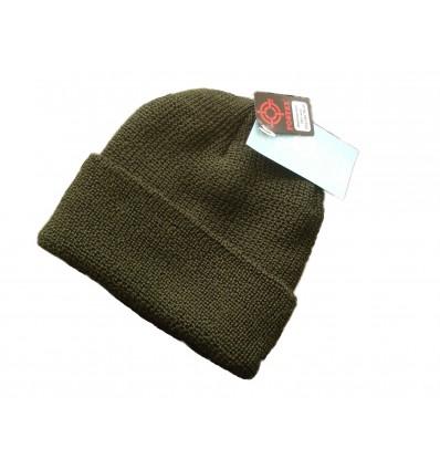 Fostex - Czapka  zimowa - Watch Cap Wool - 100% Wełna - Zielony OD