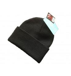 Fostex - Czapka zimowa - Watch Cap Wool - 100% Wełna - Czarny