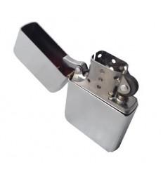 Atomic - Zapalniczka Benzynowa - Klasyczna - Chrom Brushed - 15224001