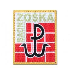 KAMPFHUND - Naszywka JWK ''Baon Zośka'' Lubliniec - Kolor - Gen I