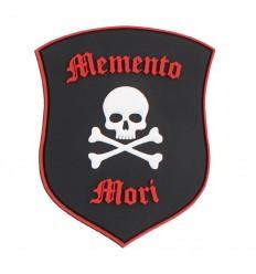 101 Inc. - Naszywka Memento Mori Shield Skull - 3D PVC