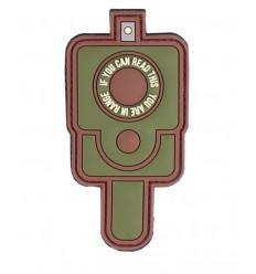 101 Inc. - Naszywka IN RANGE - 3D PVC - MultiCam