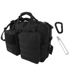 CAMO - Torba / Plecak COMEX - 22/28 Litrów - Czarny - TO-CM-SB-BL