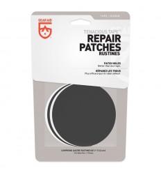 Gear Aid - Łatki naprawcze - Tenacious Tape Patches - 2x Czarne / 2x Przezroczyste - Okrągłe - 10710