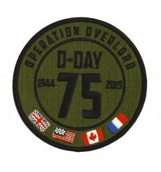 101 Inc. - Naszywka D-Day 75 years - OPERATION OVERLORD