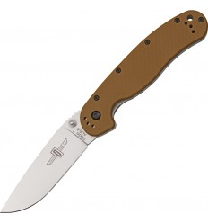 Ontario - Nóż składany RAT 1 Folding Knife - Coyote Brown Handle - 8848 CB