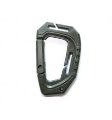Mil-Tec - Karabinek taktyczny MOLLE /1 sztuka/ - Zielony Olive - 15922501
