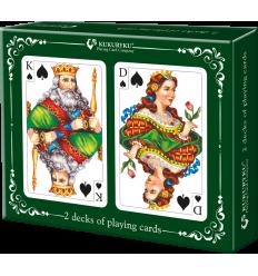 Kukuryku - Zestaw 2 talie kart do gry - klasyczne