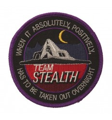 101 inc. - Naszywka TEAM STEALTH F-117