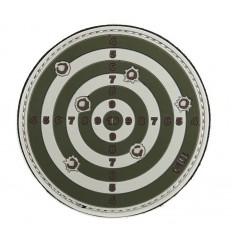 101 Inc. - Naszywka 3D - Target - Zielony/Piaskowy