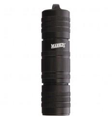 "Marbles - Kapsuła wodoodporna na zapałki 12x3cm - Matchsafe 4.75"" - Waterproof Black Aluminum Matches - MR320"