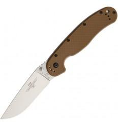 Ontario - Nóż składany RAT 1 Folding Knife - Stal D2 - Coyote Brown Handle - 8867OD