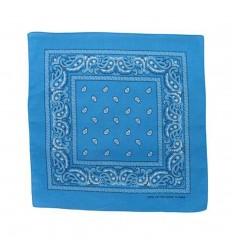 CAMO - Chusta / Bandana 55x55 cm - Niebieski