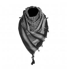 Mil-Tec - Arafatka / Chusta SHEMAGH - Czarny / Biały - 12619500