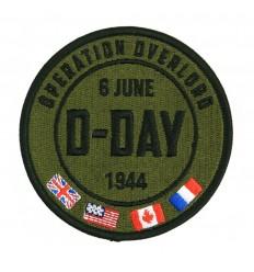 101 Inc. - Naszywka D-Day 6 June 1944 - OPERATION OVERLORD