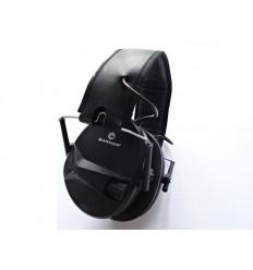 Earmor - Aktywne ochronniki słuchu / Słuchawki ochronne M30 - Czarny - M30-BK