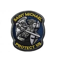 MALAMUT - Naszywka SAINT MICHAEL PROTECT US - Kolor