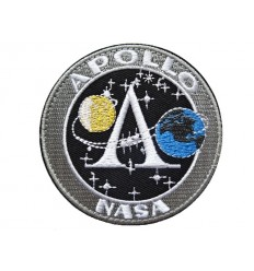 MALAMUT - Naszywka APOLLO NASA - rzep