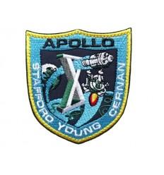 Mtac - Naszywka APOLLO 10 / Stafford Young Cernan - rzep
