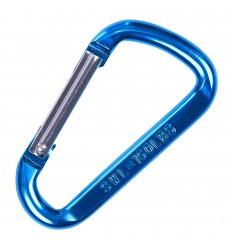 101 Inc. - Karabinek aluminiowy - 150LBS (68kg) - Metalic blue