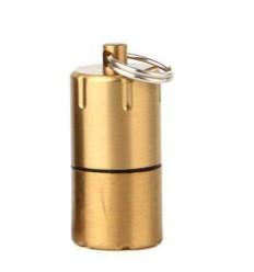 DOLPHIN - Mini zapalniczka benzynowa EDC MiniFire - Złoty