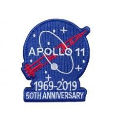 Mtac - Naszywka APOLLO 11 / 1969-2019 - 50th Anniversary - rzep