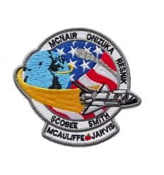 Mtac - Naszywka Challenger STS-51-L - rzep