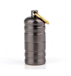 DOLPHIN - Mini zapalniczka benzynowa EDC MiniFire Relief - Gun Metal