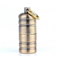 DOLPHIN - Mini zapalniczka benzynowa EDC MiniFire Relief - Brass