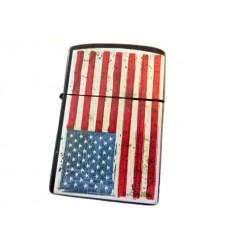 EARTH - Zapalniczka benzynowa / klasyczna - US FLAG