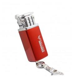 RAYTHOR LIGHTER - Mini zapalniczka gazowa / brelok -  Mini Keychain Lighter - Czerwony