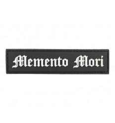 101 Inc. - Naszywka MEMENTO MORI / Goth - 3D PVC