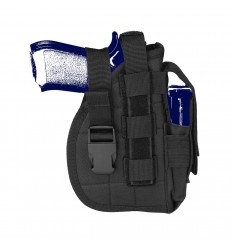 CAMO - Kabura pistoletowa uniwersalna - MOLLE HOLSTER - Czarny